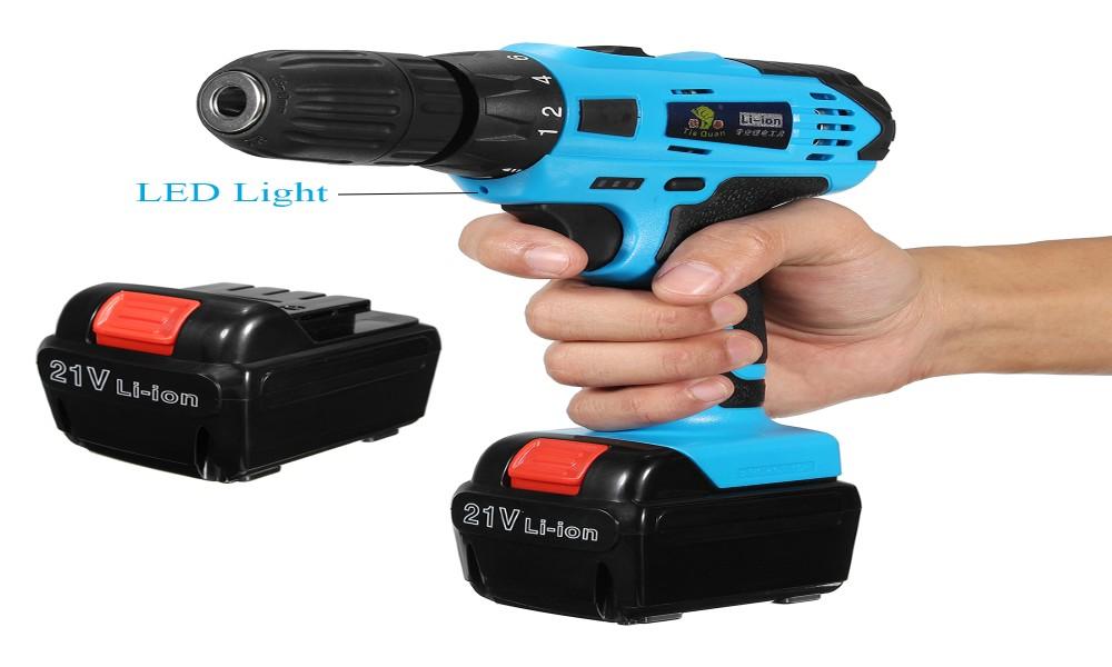 High Torque Cordless Hammer Drill