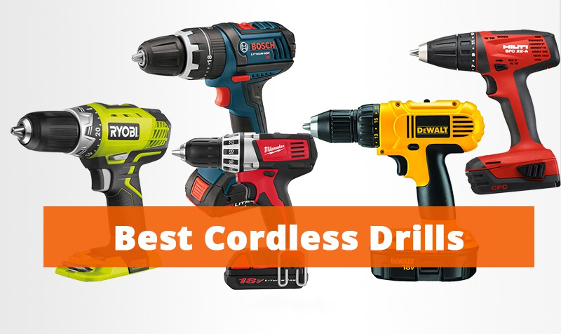 Top Rated Cordless Drills