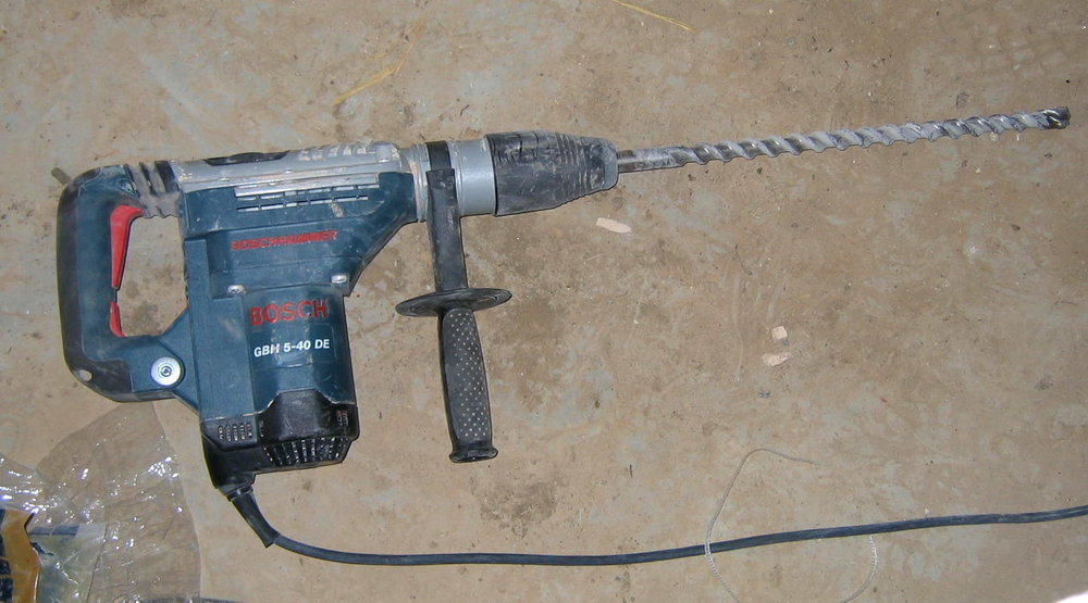 Uses For a Hammer Drill