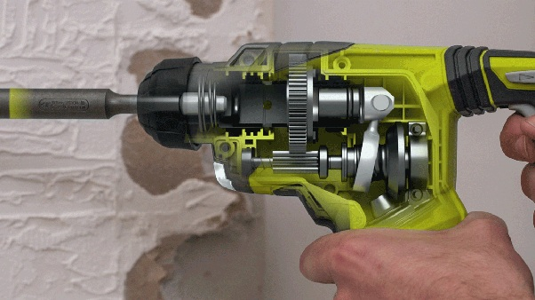 How Does Hammer Drill Work